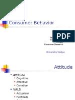consumer behaviour-vals-ii