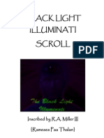 Black Light Illuminati Scroll