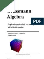 Grass Mann Algebra Book