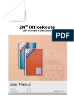 2N Office Route VBE - User Manual EN1493 v1-7-0-0