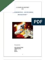 A Seminar Report Nano Robotics