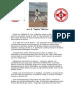 "Biografía de Shihan Jose A. ""Capitan"" Martínez"