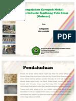 Presentasi PKL Kerupuk Mokal