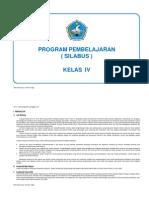 SILABUS KL.IV
