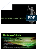 The Lawyer and the Courts