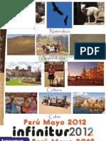 Itinerario Perú mayo 2012