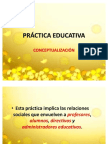 PRÁCTICA EDUCATIVA