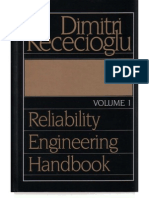 Dimitri Kececioglu - Reliability Engineering Handbook, Vol. 1