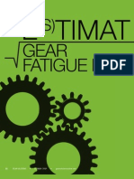 Estimating Gear Fatigue Life