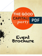Good Capitalist Lounge Official Event Program