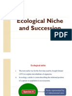 4. Ecosystem Types, Niche and Succession