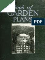 A Book of Garden Plans