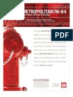 USPVH-0012 M94 4Pg Brochure