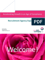 Accelerating Growth in an Age of Compliance - Ben Stoneham, Now We Comply