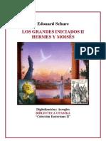 Hermes y Moisés -Edouard Schure-