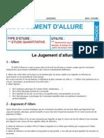 Document Fomation-zkk-le Jugement d'Allure