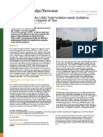 Bilateral Dimensions of the CAREC Trade Facilitation Agenda
