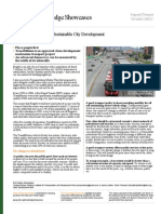 Bogotá's Experience in Sustainable City Development