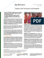 Institutionalizing Gender Equality at ADB
