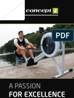 Rower Concept2 Brochure New