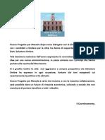 Comunicato Stampa Progetto Per Marsala
