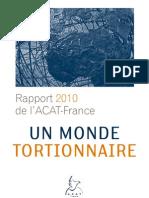ACAT France-Rapport Torture-Dec 2010