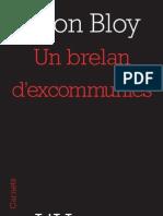 """""""Un brelan d'excommuniés"""" de Léon Bloy"""