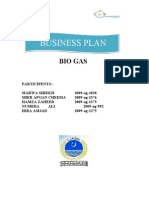Business Plan Bio Gas
