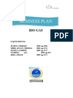 Business plan for oil and gas company