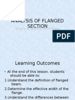 Topic 2 - Analysis of Flanged Section (Ec2)