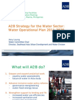 ADB's Strategy for the Water Sector