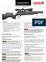 Gamo Dynamax Instructions