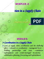 Coordination in a Supply Chain By K L N REDDY