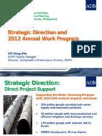 WFPF Strategic Direction and 2012 Annual Work Program