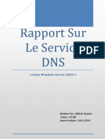 Rapport Systéme DHCP