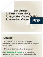 Structure 2 Dependent Clause