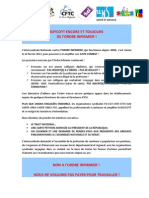 Tract Ordre Infimier Mars 2012