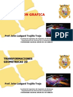 TRANSFORMACIONESGEOMETRICASComputaciónGraficaFISI2011-II