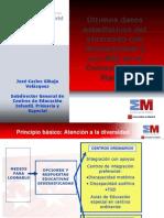 J. Carlos Gibaja. - Ultimos datos estadísticos del alumnado con discapacidad y con NEE