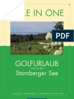 Hole in One - Golfurlaub am Starnberger See