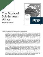 Music of Subs Aha Ran Africa