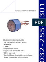 23 Inch Copper Immersion Heater