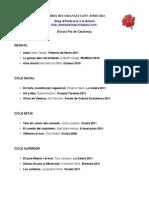 2012.03 Recomanats Sant Jordi