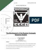 Development of the Conjugate Sequence
