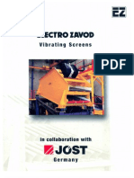 Manual Book Vibrating Screen | Bearing (Mechanical) | Machines