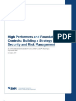 Building a Strategy for Security and Risk Management