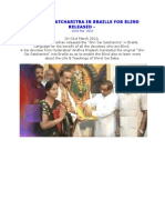 'Shri Sai Satcharitra' in Braille for Blind Released