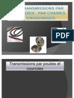 Les Transmissions Par Courroies Et Par Chaines