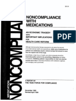 Noncompliance with Medications