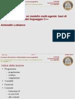 Lezione F.02 Implementazione di un modello multi-agente